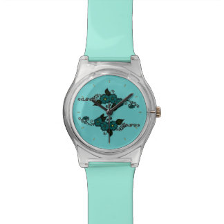 Flor de la alheña (trullo) relojes
