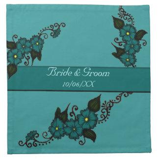 Flor de la alheña (trullo) servilletas de papel