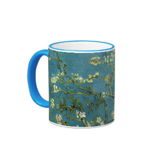 Flor de la almendra de Vincent van Gogh Taza De Dos Colores