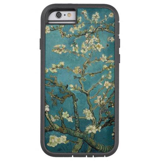 Flor de la almendra funda de iPhone 6 tough xtreme