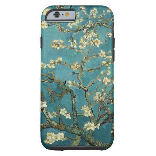 Flor de la almendra funda de iPhone 6 tough