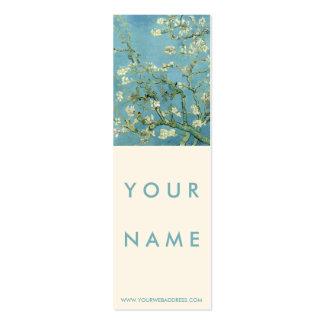 Flor de la almendra por la bella arte de Van Gogh Tarjetas De Negocios