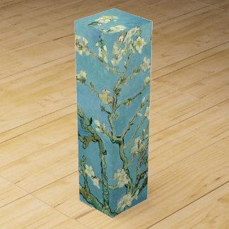 Flor de la almendra por la caja de regalo del vino cajas para botellas de vino