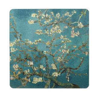 Flor de la almendra posavasos de puzzle