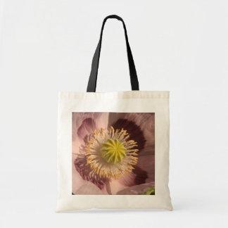 flor de la amapola bolsa tela barata