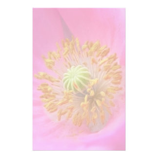 Flor de la amapola de las rosas fuertes papeleria