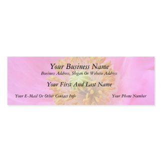Flor de la amapola de las rosas fuertes tarjetas de visita