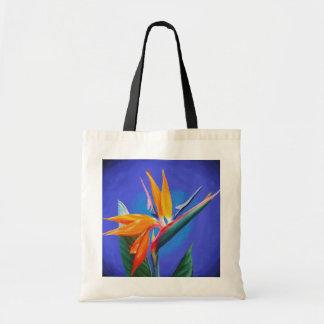 Flor de la ave del paraíso bolsa de mano