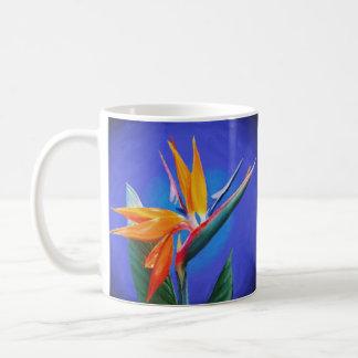 Flor de la ave del paraíso taza clásica