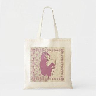 Flor de la baya - bolso impreso bolsa tela barata