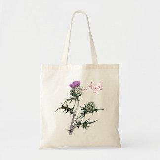 Flor de la bolsa de asas escocesa de la independen