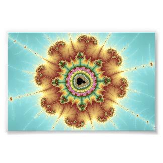 Flor de la caída - arte del fractal fotos