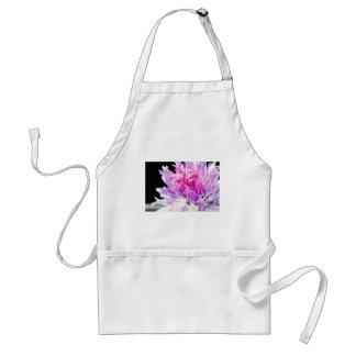 Flor de la cebolleta en aceite delantal