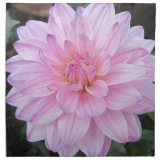 Flor de la dalia de la lavanda servilletas de papel