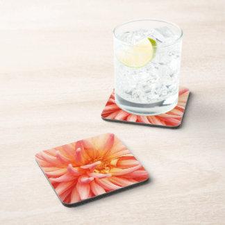 Flor de la dalia del deslumbramiento posavasos de bebidas