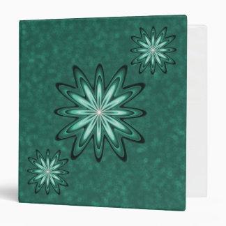 Flor de la estrella del verde de mar en la carpeta