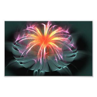 Flor de la fibra óptica (ancha)
