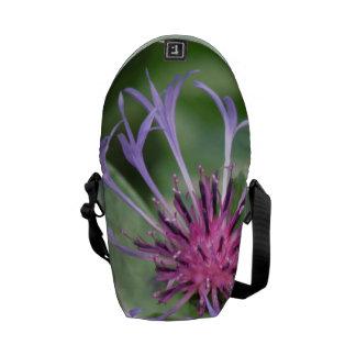 Flor de la flor del botón del soltero bolsa de mensajeria
