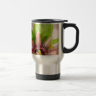 Flor de la fruta de la pasión taza de café
