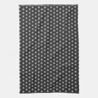 Flor de la geometría sagrada de la vida toallas
