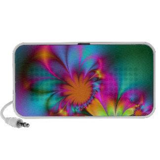 Flor de la guardería iPod altavoces