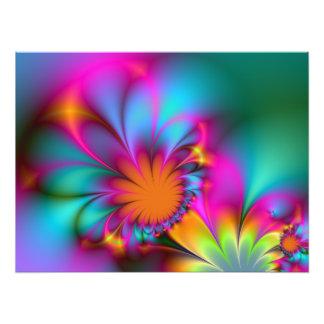 Flor de la guardería impresión fotográfica