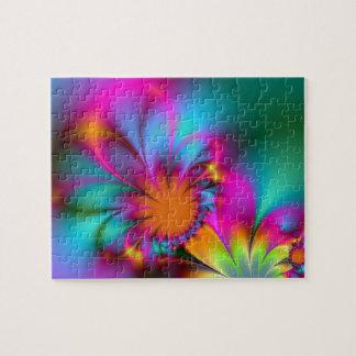 Flor de la guardería puzzle con fotos
