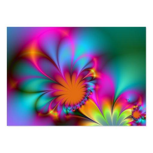 Flor de la guardería tarjetas de visita grandes