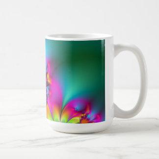 Flor de la guardería tazas