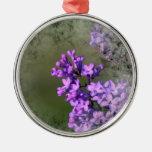 Flor de la lila adorno para reyes
