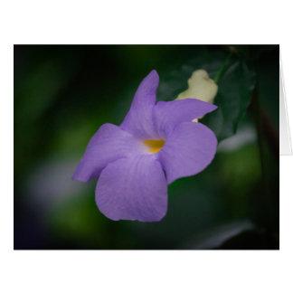 Flor de la lila en el proyecto de Eden Tarjeta De Felicitación Grande