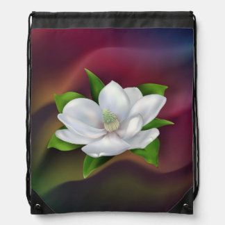 Flor de la magnolia mochila