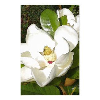 Flor de la magnolia papelería