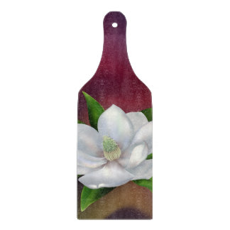 Flor de la magnolia tabla para cortar