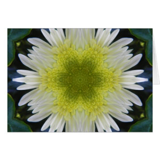 Flor de la mandala de la esperanza tarjeta de felicitación