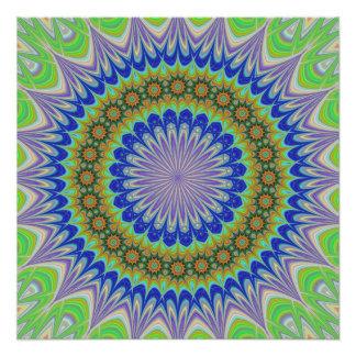 Flor de la mandala perfect poster