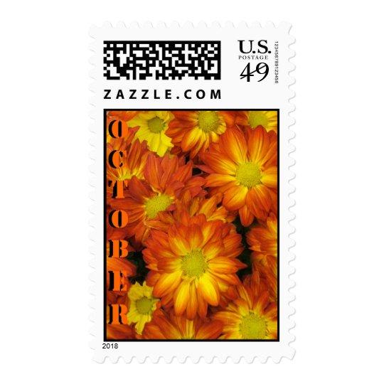 flor de la maravilla sello postal