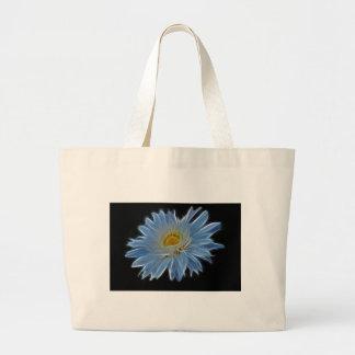 Flor de la margarita bolsa de mano