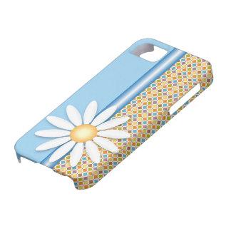 Flor de la margarita iPhone 5 Case-Mate cárcasa