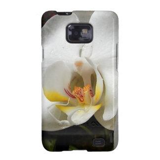 Flor de la orquídea galaxy SII carcasa