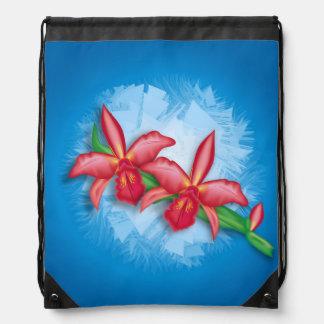 Flor de la orquídea mochilas