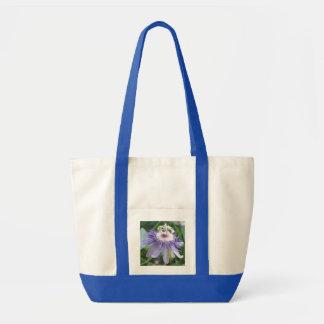Flor de la pasión bolsa tela impulso