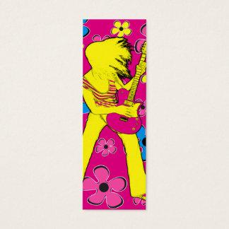 Flor de la paz - tarjeta flaca tarjetas de visita mini