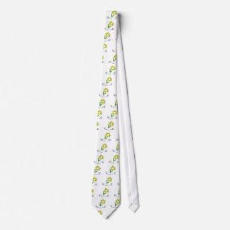 Flor de la primavera corbatas personalizadas