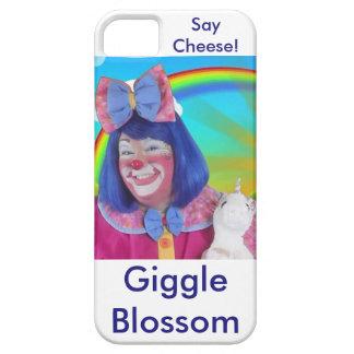 Flor de la risita la caja del teléfono iPhone 5 cobertura