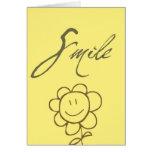 Flor de la sonrisa felicitacion