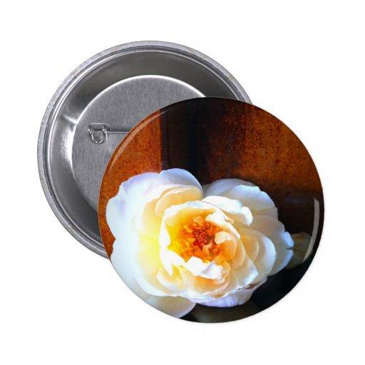 Flor de la tranquilidad pin redondo 5 cm