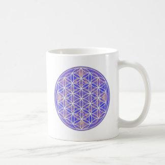 Flor de la vida (color 3) taza