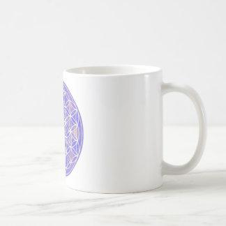 Flor de la vida (color 3) taza clásica