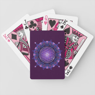 FLOR DE LA VIDA/de DES Lebens - mandala I de Blume Baraja Cartas De Poker